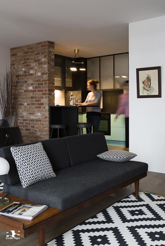 portes et hotte en m tal et verre d poli les ateliers du 4. Black Bedroom Furniture Sets. Home Design Ideas